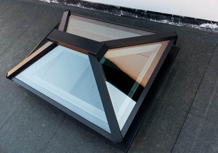 Aluminium rooflight