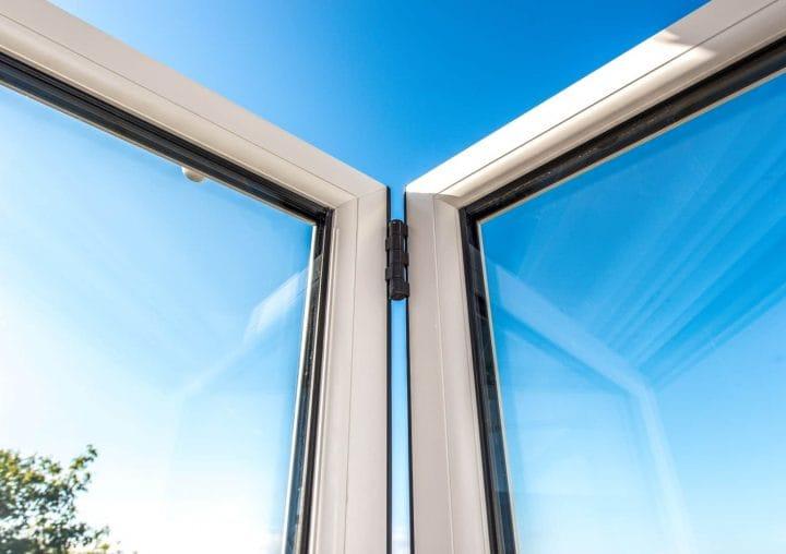 Bi-folding doors up close