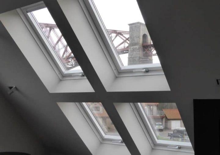 White tilt & turn window