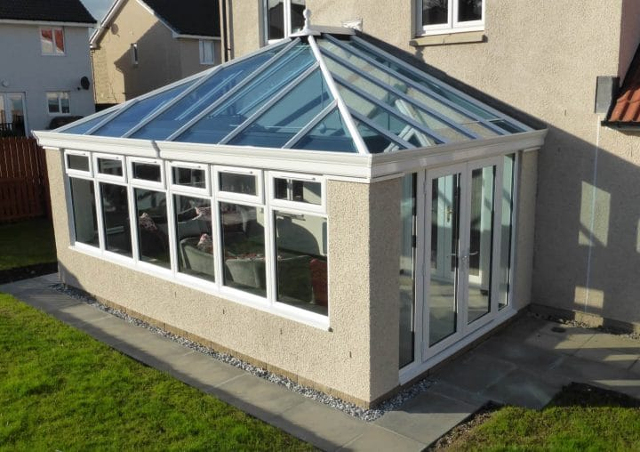 White PVCu Conservatory