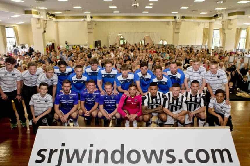 SRJ Windows - Sponsors Dunfermline Athletic FC