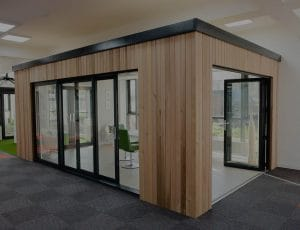 Conservatory in showroom