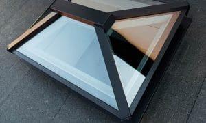 Black Aluminum Sun Roof