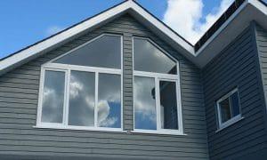 Large casement windows