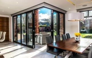 double glazed bi-folding doors