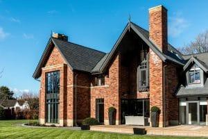 Modern home with casement windows - SRJ Windows
