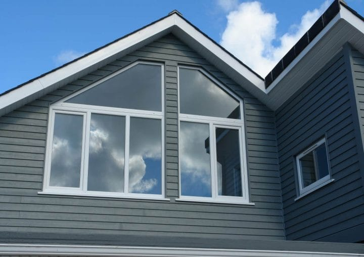 Large PVCu Windows