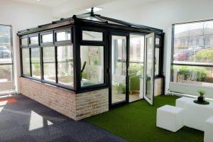 Modern conservatory - SRJ Windows