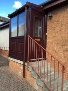 Porch with steps - SRJ Windows