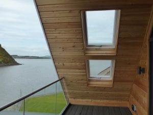 External tilt and turn windows on balcony - SRJ Windows