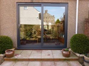 Black Patio or French Door - SRJ Windows