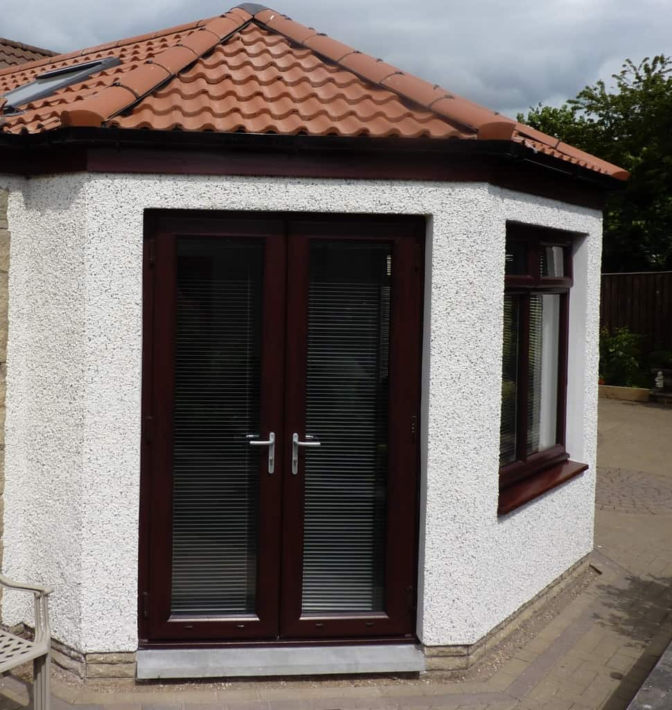 Best contemporary patio and french doors in scotland srj for Three door french doors