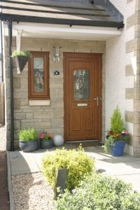 Brown composite door - SRJ Windows