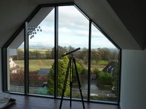 Large glass window with view - SRJ window