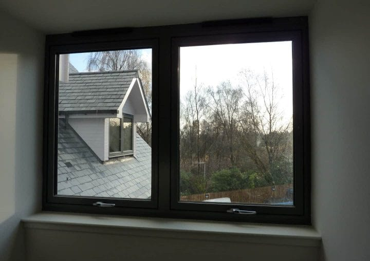Tilt and turn windows from the inside