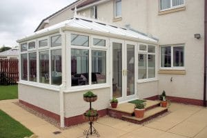 White Conservatory Sunroom - SRJ Windows