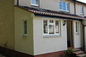 PVCU windows in sash style - SRJ Windows