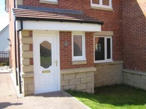 Home with PVCU doors and windows - SRJ Windows