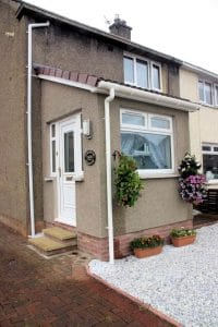 Porch with PVCu doors and windows - SRJ Windows