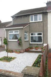 House with white casement windows - SRJ Windows