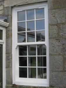 Modern vertical sliding windows- SRJ Windows