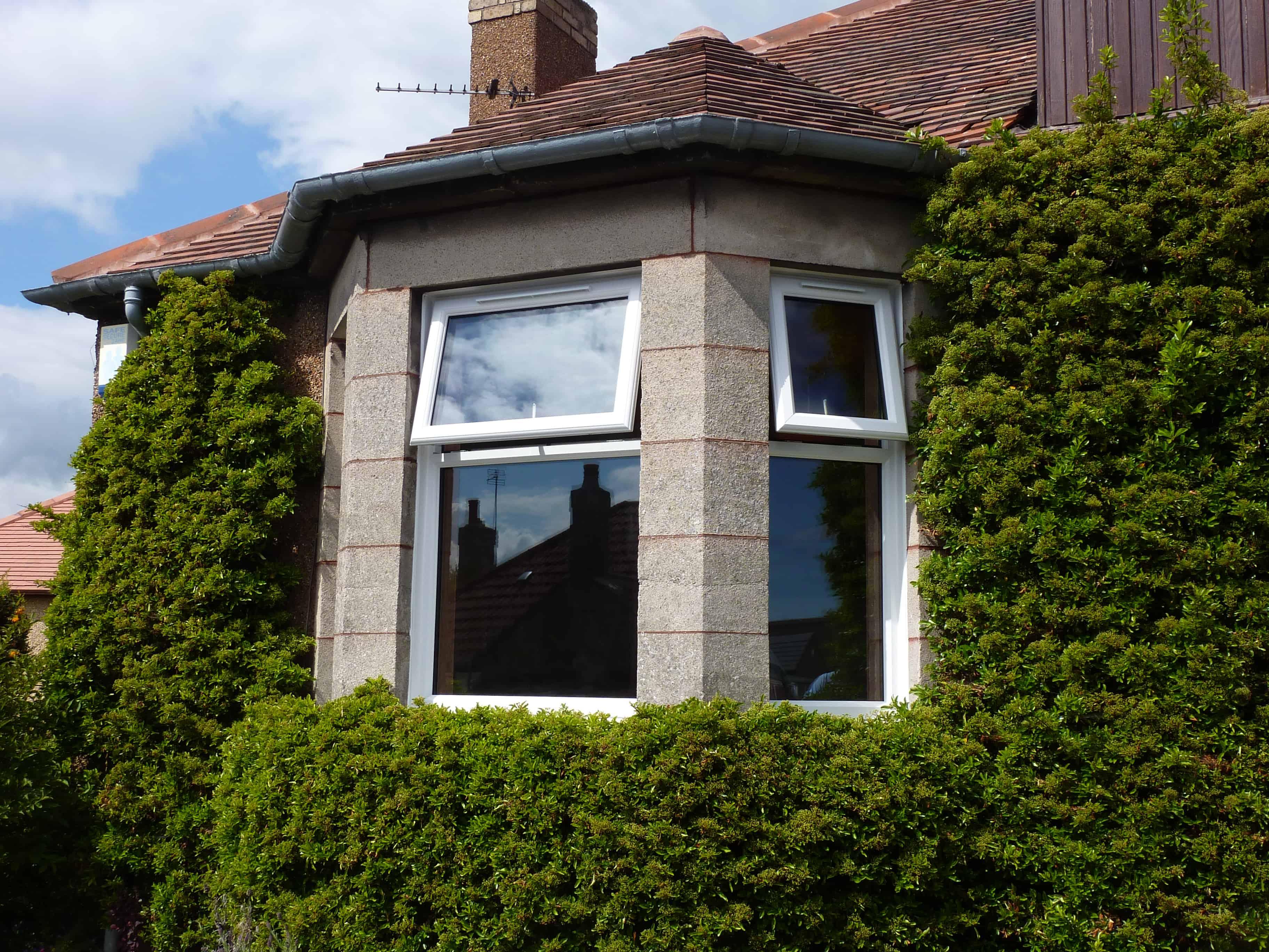 Traditional bay window