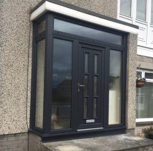 Modern Custom Built Porch by SRJ Windows