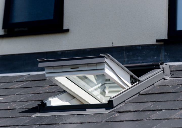 Open roof window