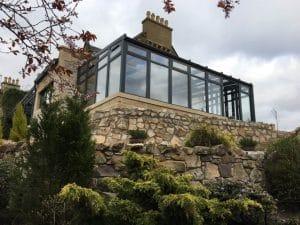 Conservatory on a hill - SRJ Windows