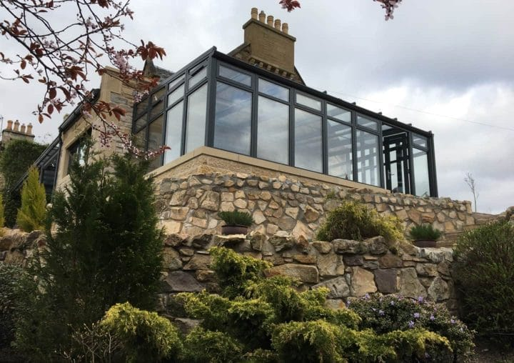 Conservatory on a hill
