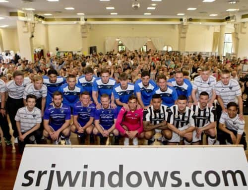 SRJ Windows – Sponsors Dunfermline Athletic FC