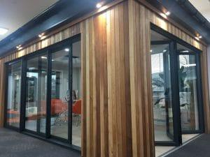 Dark Grey Bi-Fold Doors - SRJ Windows