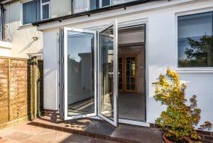White Bi Fold Doors - SRJ Windows