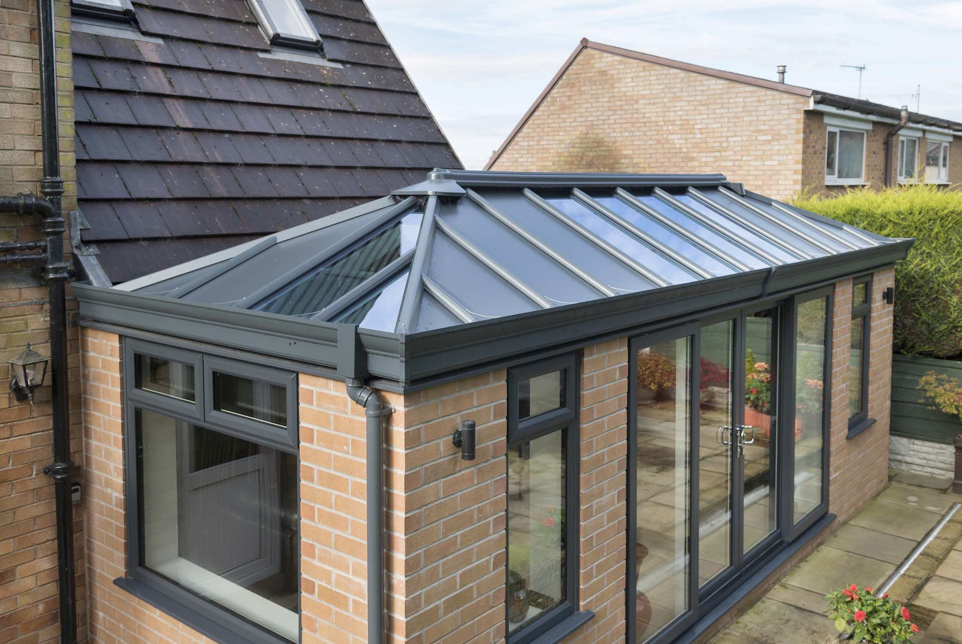 Solid Conservatory Roof Extensions Fife, Dunfermline