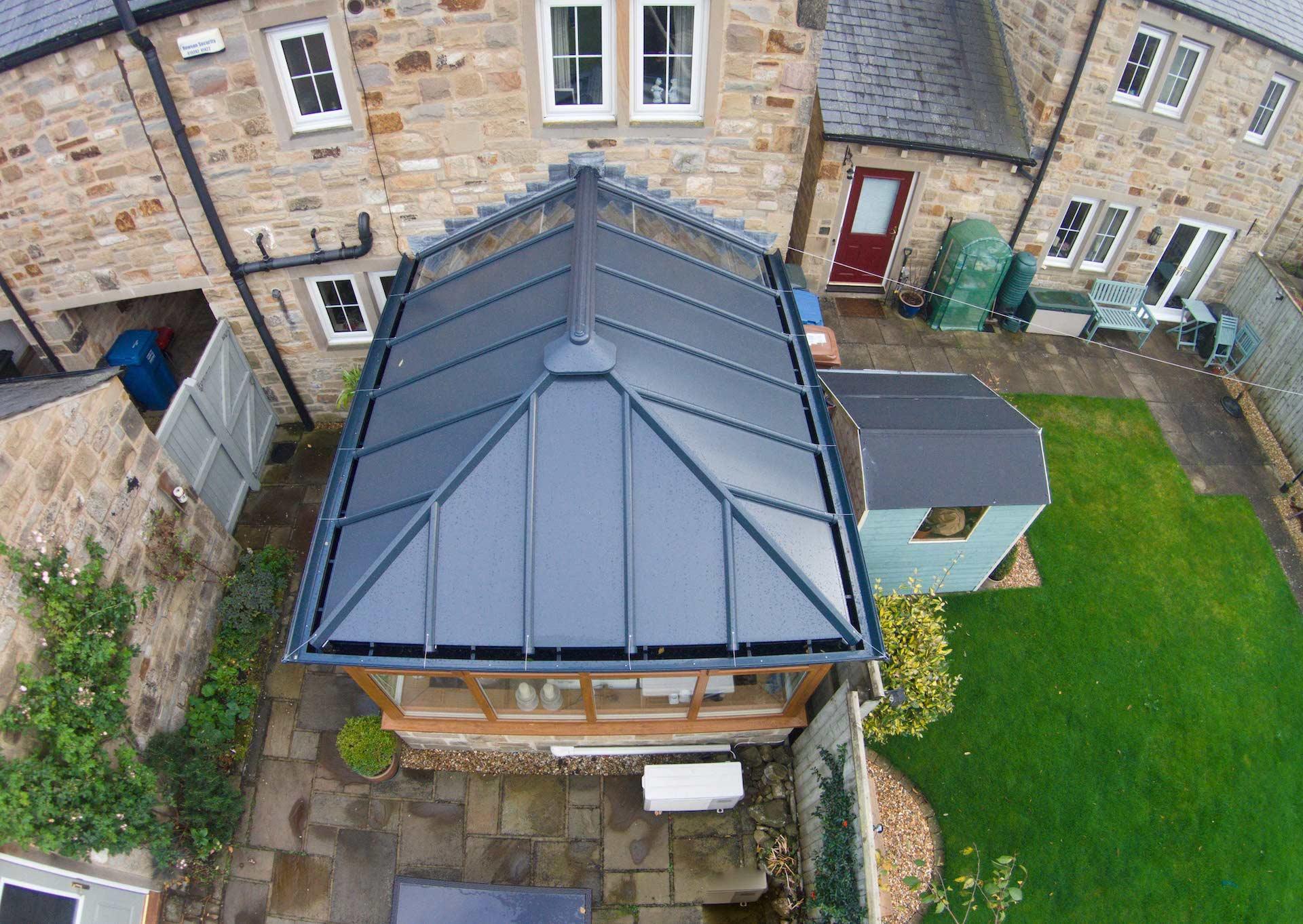 Conservatory Roof Installation Dunfermline, Fife