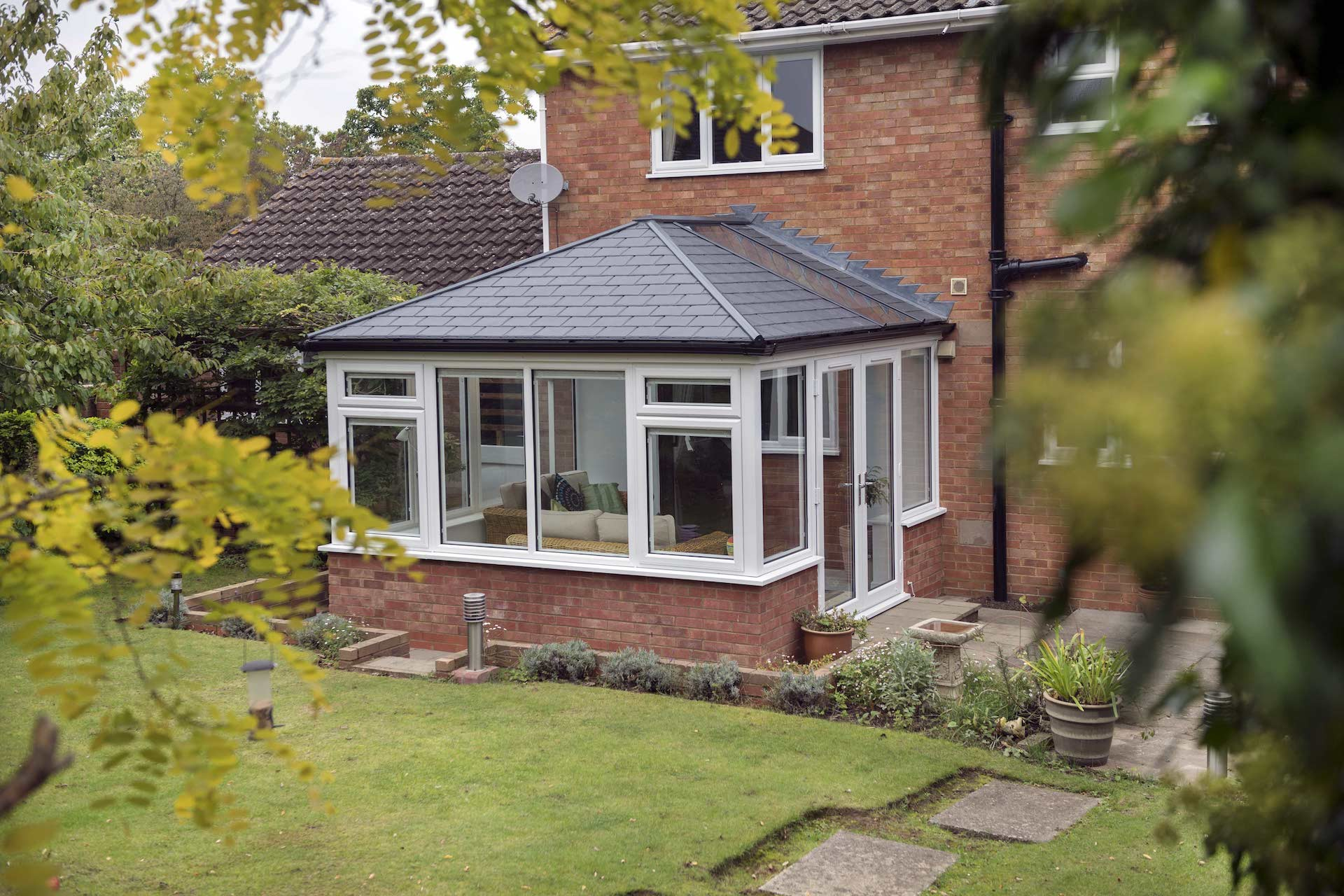 Tiled Roof House Extension, Fife | House Extensions Prices ...
