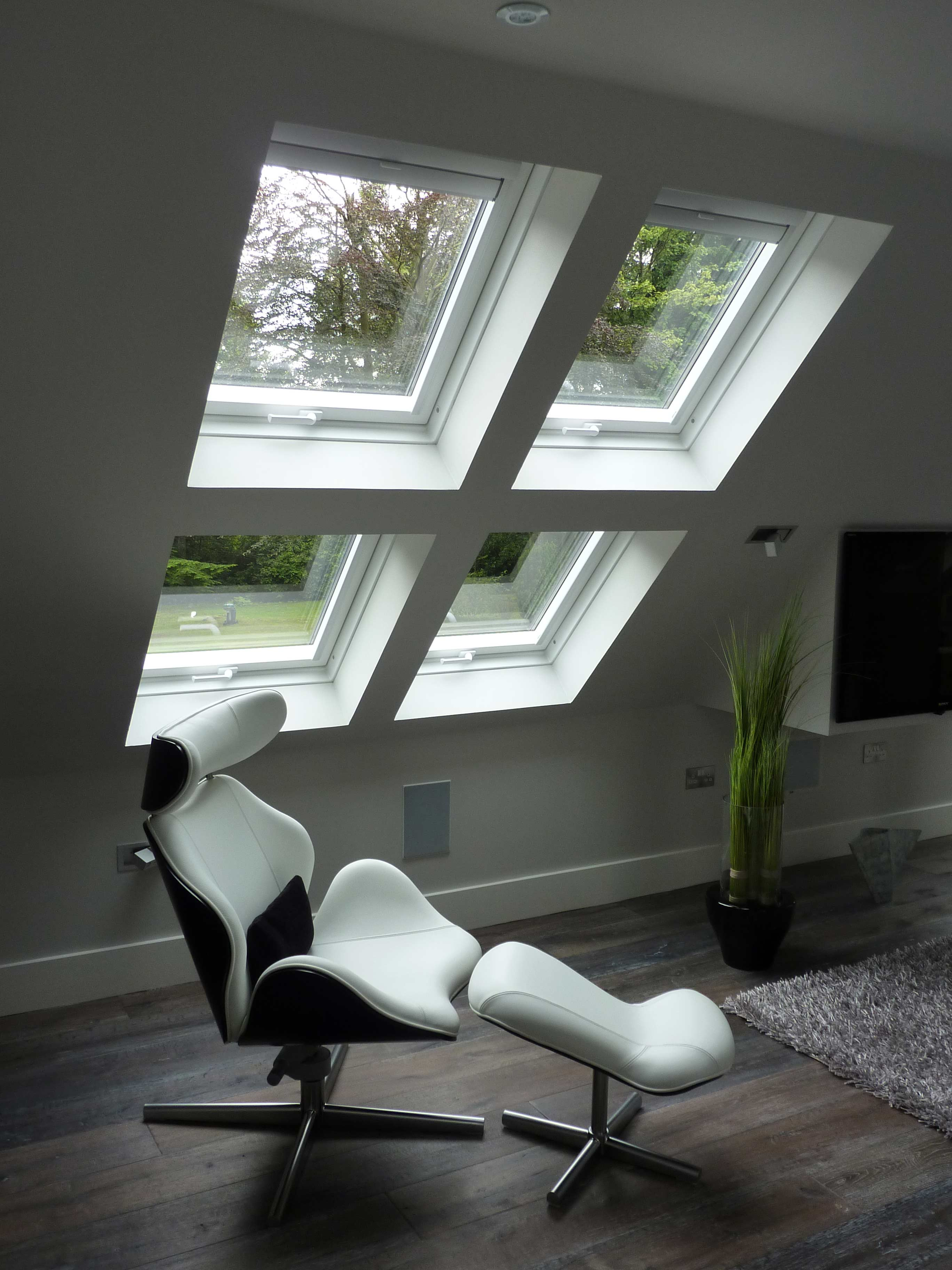 Double Glazing Juniper Green
