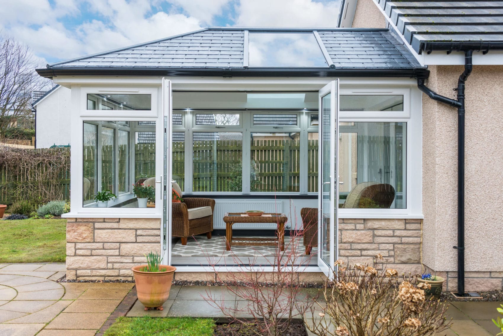 Replacing Conservatory Roof with solid roof Falkirk