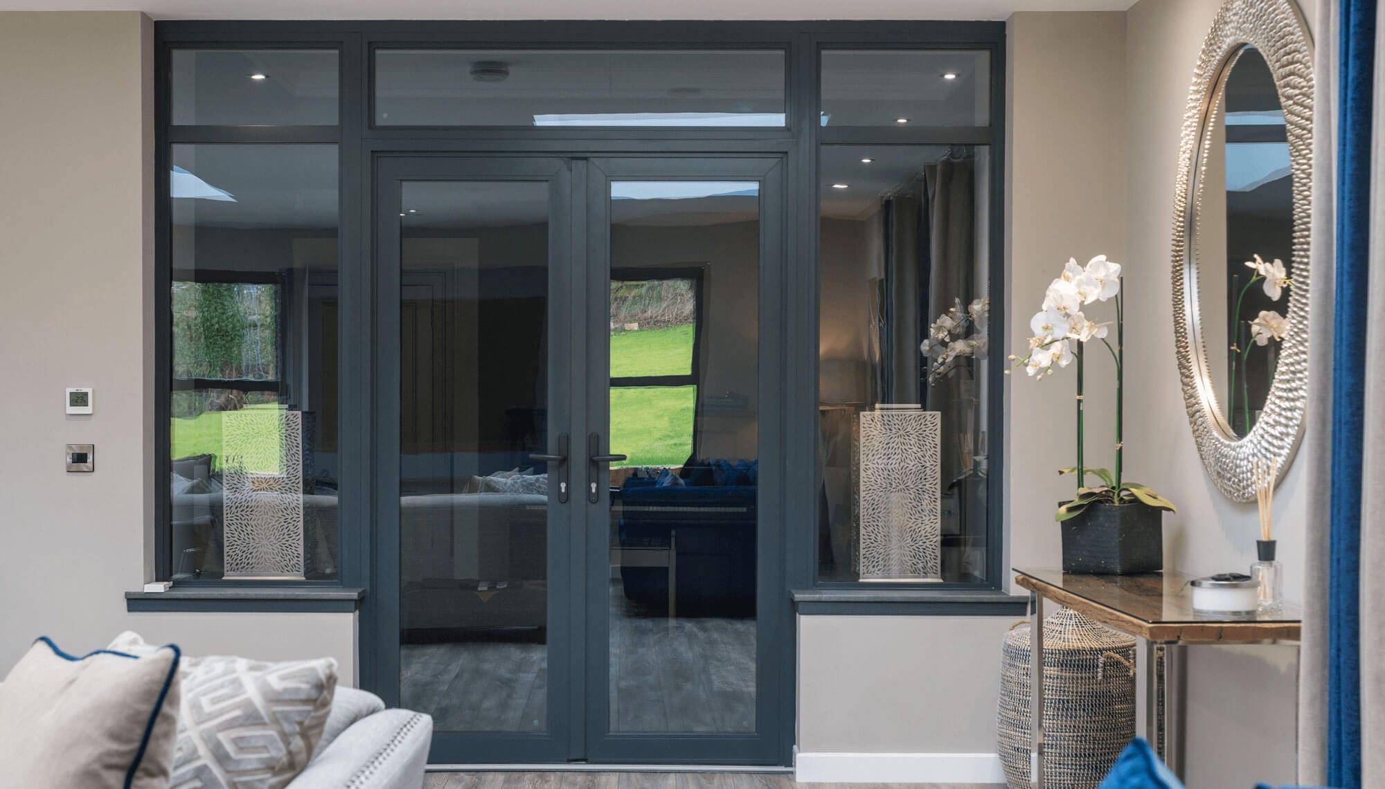 Aluminium French Door Cost Dunfermline