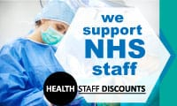 We Support NHS Staff