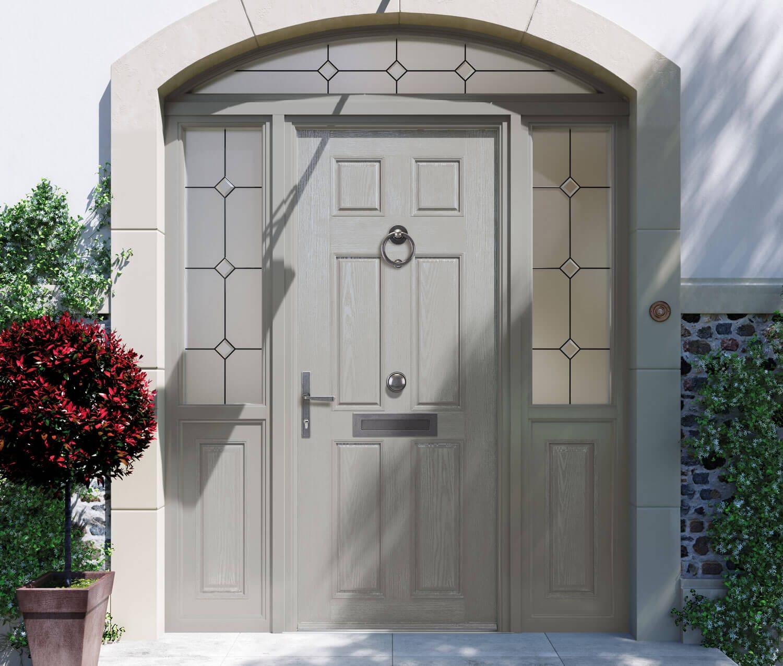 Grey Composite Door Leslie