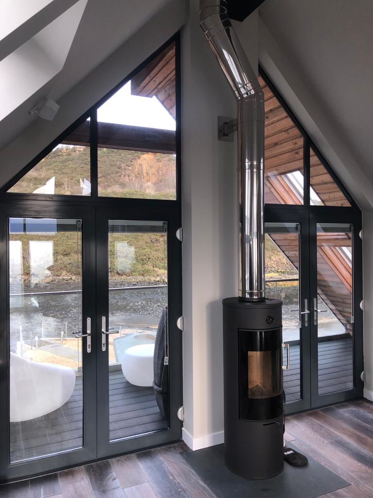 Aluminium French Door Installation Edinburgh