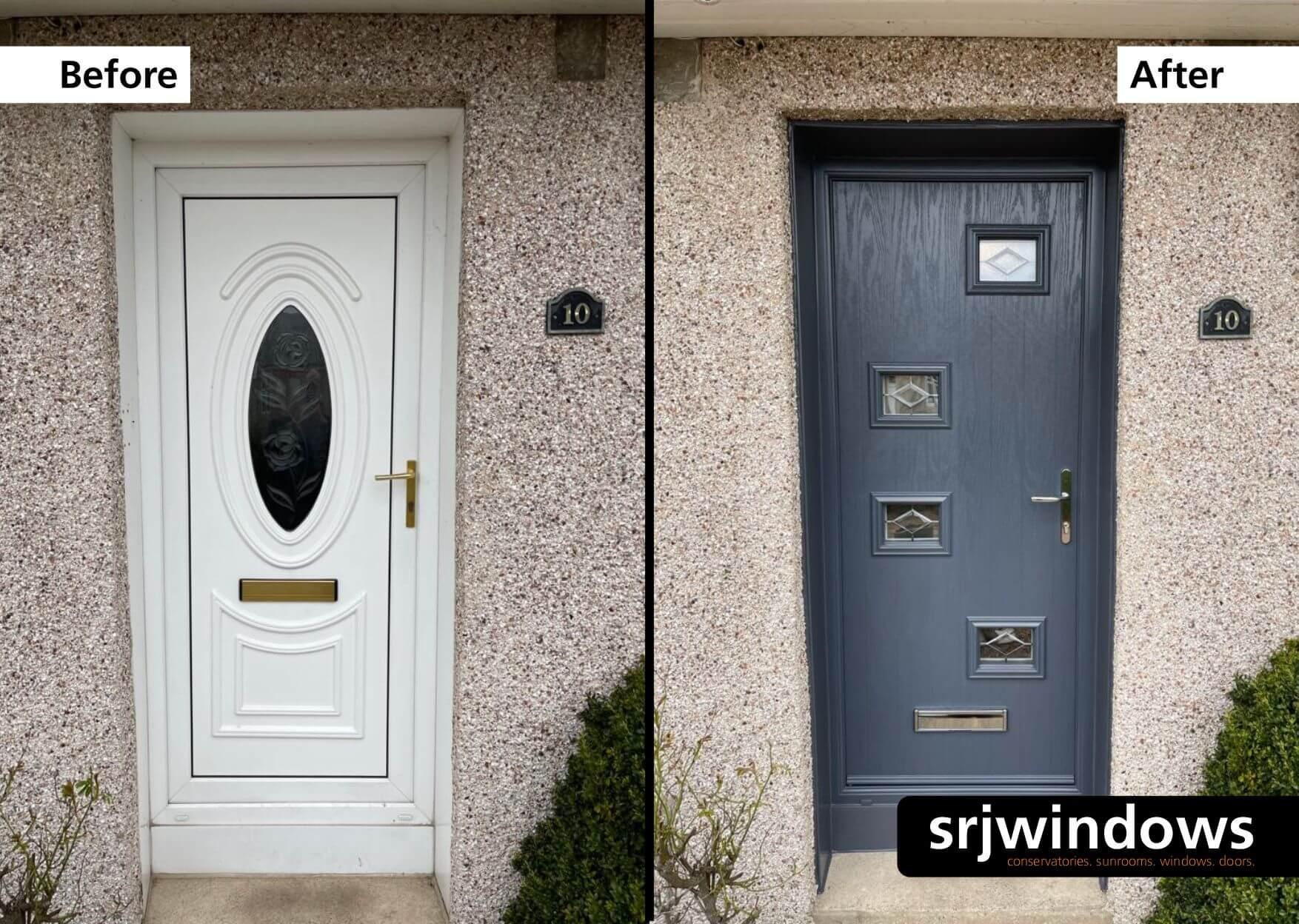 Grey Composite Door Falkirk