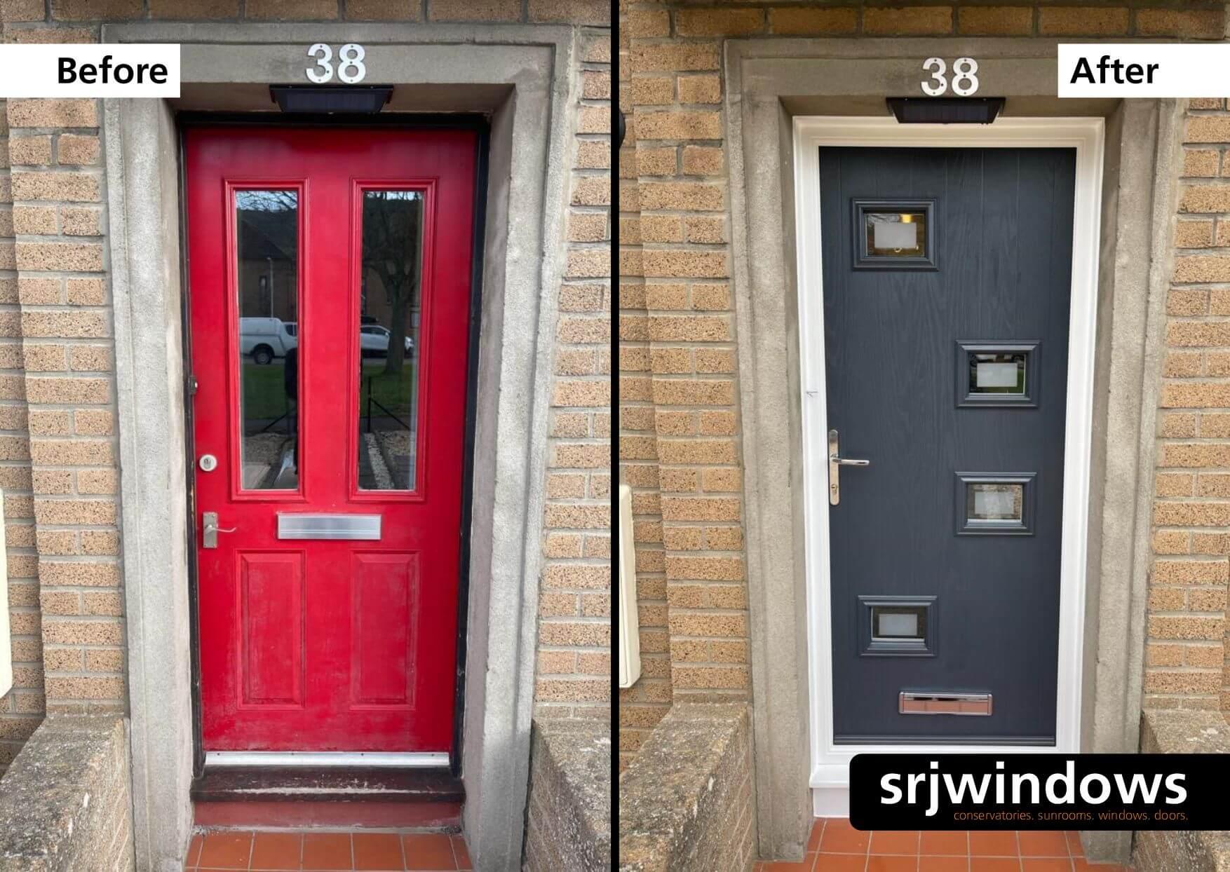 Modern Composite Doors Falkirk